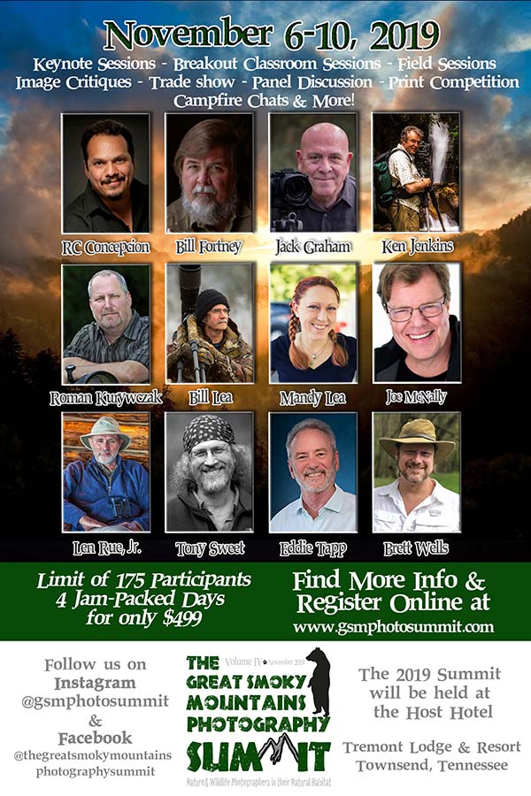 The Great Smoky Mountains Photography Summit
